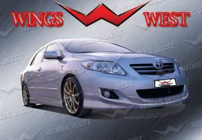 Wings West - Toyota Corolla Wings West VIP Side Skirts - Left & Right - 890929L&R