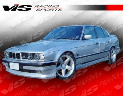 VIS Racing - BMW 5 Series VIS Racing A Tech Side Skirts - 89BME344DATH-004