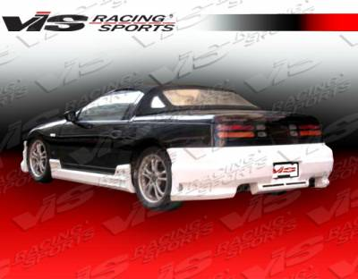 VIS Racing - Nissan 300Z VIS Racing Tracer Side Skirts - 90NS30022TRA-004