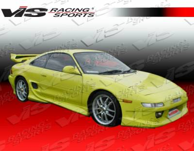 VIS Racing - Toyota MR2 VIS Racing Invader Side Skirts - 90TYMR22DINV-004