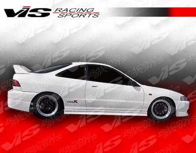 VIS Racing - Acura Integra 2DR VIS Racing Tracer Side Skirts - 94ACINT2DTRA-004