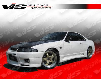 VIS Racing - Nissan Skyline VIS Racing Techno R Side Skirts - 95NSR33GTRTNR-004