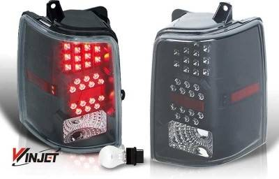 WinJet - Jeep Grand Cherokee WinJet LED Taillight - Black & Smoke - WJ20-0038-05