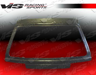 VIS Racing - Honda Civic HB VIS Racing OEM Carbon Fiber Hatch - 88HDCVCHBOE-020C