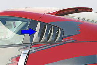 Street Scene - Nissan 350Z Street Scene Generation 1 Side Windows Louvers - 950-70328