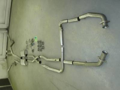 Stainless Works - Lincoln Mark Stainless Works Exhaust System - 08LMMANTDOR