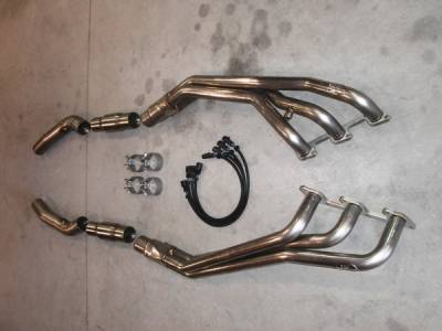Stainless Works - Ford Mustang Stainless Works Header & Exhaust System - MV6HDRCAT