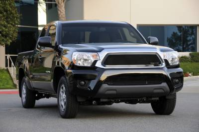 T-Rex - Toyota Tacoma T-Rex Upper Class Mesh Grille - All Black - 51938