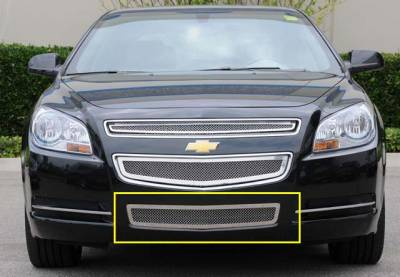 T-Rex - Chevrolet Malibu T-Rex Upper Class Polished Stainless Bumper Mesh Grille - 55168