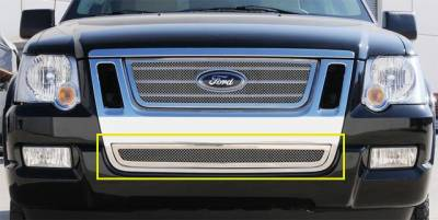 T-Rex - Ford Expedition T-Rex Upper Class Polished Stainless Bumper Mesh Grille - 55662