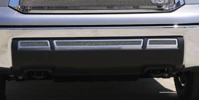 T-Rex - Toyota Tundra T-Rex Upper Class Stainless Bumper Grille - 3PC - 55961