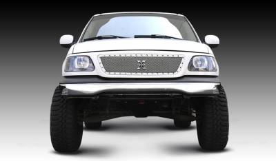 T-Rex - Ford F150 T-Rex X-Metal Series Studded Main Grille - Polished Stainless Steel - 6715800