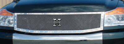 T-Rex - Nissan Titan T-Rex X-Metal Series Studded Main Grille - Polished Stainless Steel - Custom - 1PC - 6717790