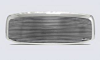 Street Scene - Dodge Ram Street Scene Custom Chrome Grille Shell with 8mm Polished Billet - 950-75536