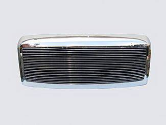 Street Scene - Ford Superduty Street Scene Chrome 1 Opening Shell with 4mm Billet Grille - 950-75576