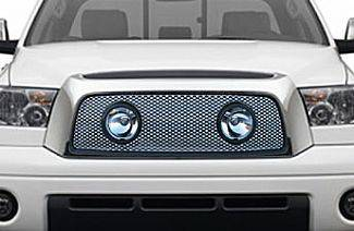 Street Scene - Toyota Tundra Street Scene Grille Shell with Lights Package - Satin Aluminum - 950-77570