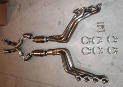 Stainless Works - Ford Mustang Stainless Works Exhaust Header - M9604