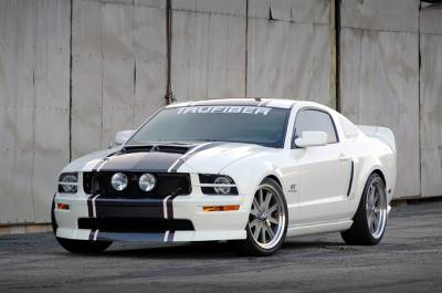 TruFiber - Ford Mustang TruFiber SH-GT Hood TF10024-A42