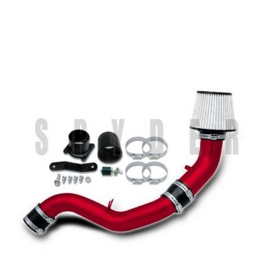 Spyder - Nissan 350Z Spyder Cold Air Intake with Filter - Red - CP-547R