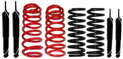 Strutmasters - Lincoln Town Car Strutmasters 4 Wheel Coil Spring Conversion Kit with 4 Shocks - LTC-90-4S
