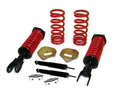 Strutmasters - Lincoln Mark Strutmasters 4 Wheel Conversion Kit with Rear Shocks & Rear Mounts - M8-4-S