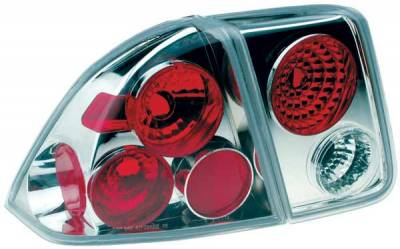 TYC - TYC Clear Euro Taillights - 81541391
