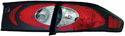 TYC - TYC Euro Taillights with Carbon Fiber Housing - 81580531