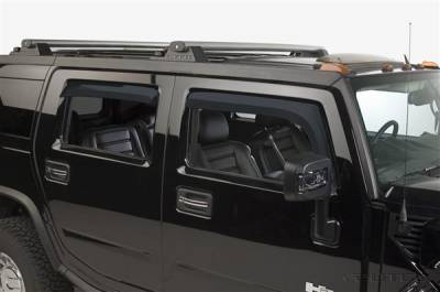 Putco - Hummer H2 Putco Element Tinted Window Visors - 580502