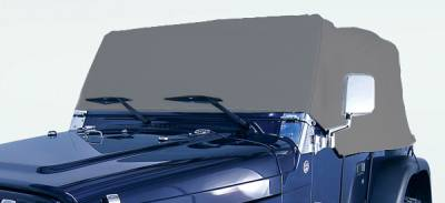 Omix - Rugged Ridge Weather Lite Full Cab Cover - 13321-01