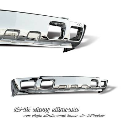 OptionRacing - Chevrolet Silverado Option Racing Lower Bumper Cover - 65-15122