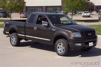 Putco - Ford F150 Putco Body Side Molding - Billet Aluminum - 96660
