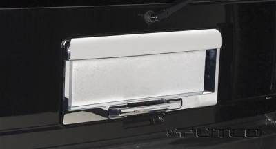 Putco - Hummer H2 Putco Rear License Frame - 403416