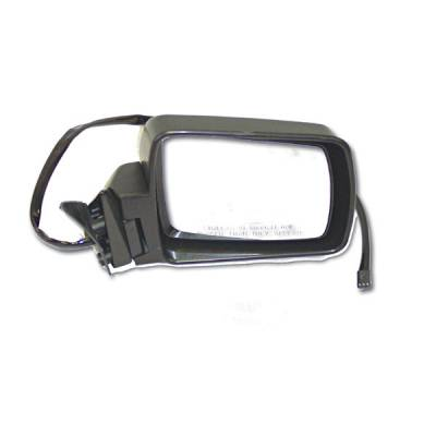 Omix - Omix Side View Mirror - Power Mirror - Remote - Right - Black - 12035-12