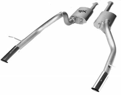 Pacesetter - TFX Performance Kat-Back Exhaust System - 86-2920