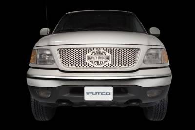 Putco - Dodge Ram Putco Punch Grille Insert with Bar & Shield - 52134
