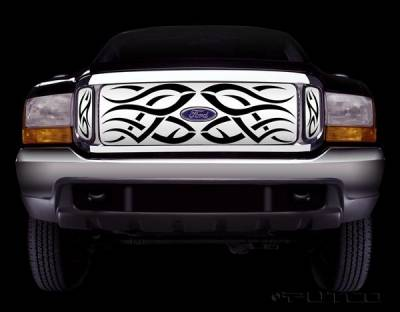 Putco - Ford F350 Superduty Putco Tribe Stainless Steel Grille - 85106