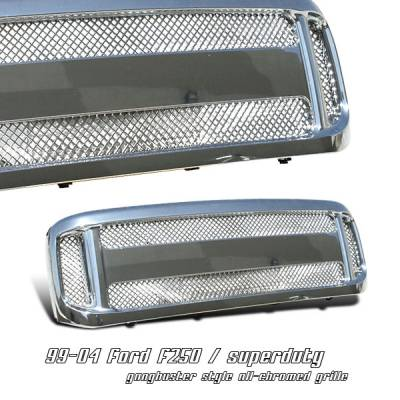 OptionRacing - Ford Superduty Option Racing Gangbuster Grille - 65-18183