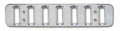 Pro-One - Pro-One Smooth Chrome Billet Lower Mini Grille - H20022SC