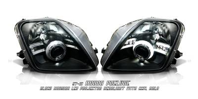 OptionRacing - Honda Prelude Option Racing CCFL Projector Headlight - 12-20120
