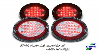 OptionRacing - Chevrolet Corvette Option Racing Taillight - 17-15131
