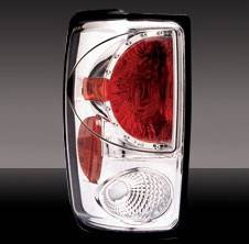 Pilot - Ford Expedition Pilot Chrome Taillight - Pair - TL-506