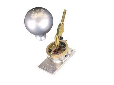 Pro-5.0 - Ford Mustang Pro-5 Shifter and Mach 1 Shift Knob Combo Pack - 51008