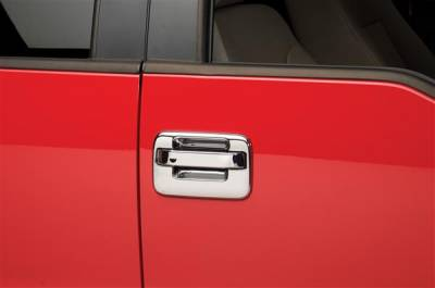 Putco - Ford F150 Putco Chromed Stainless Steel Door Handle Covers - 501007