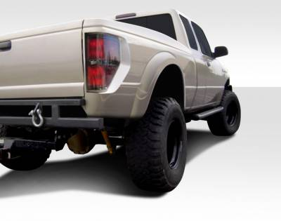 "Extreme Dimensions 16 - Ford Ranger Duraflex Duraflex Off Road 5"" Bulge Raptor Bedsides Rear Fenders - 2Piece - 108886"