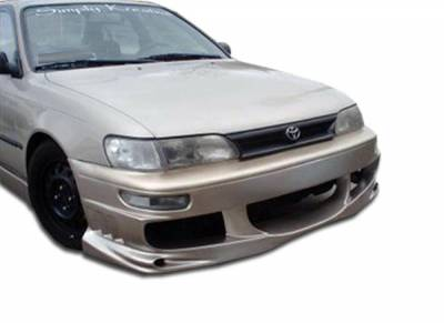 Extreme Dimensions - Toyota Corolla Duraflex Bomber Front Bumper Cover - 1 Piece - 101324