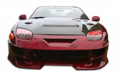 Extreme Dimensions - Mitsubishi 3000GT Duraflex Vader Front Bumper Cover - 1 Piece - 101492