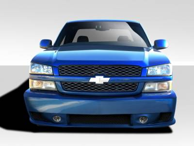 Extreme Dimensions 16 - Chevrolet Avalanche Duraflex Phantom Front Bumper Cover - 1 Piece - 103053