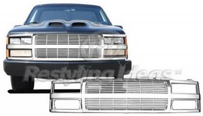 Restyling Ideas - GMC CK Truck Restyling Ideas Grille - 72-PC-C1094BL