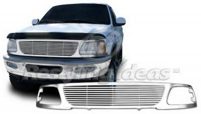 Restyling Ideas - Ford Expedition Restyling Ideas Performance Grille - 72-PF-F1597BL