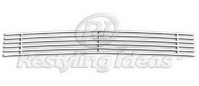 Restyling Ideas - Dodge Avenger Restyling Ideas Lower Grille - Stainless Steel Chrome Plated Billet - 72-SB-DOAVE08-B